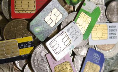 Роскомнадзор и МВД изъяли 20 тысяч нелегальных SIM-карт