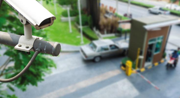 Цифровые видеокамеры Акадо Телеком на улицах Москвы