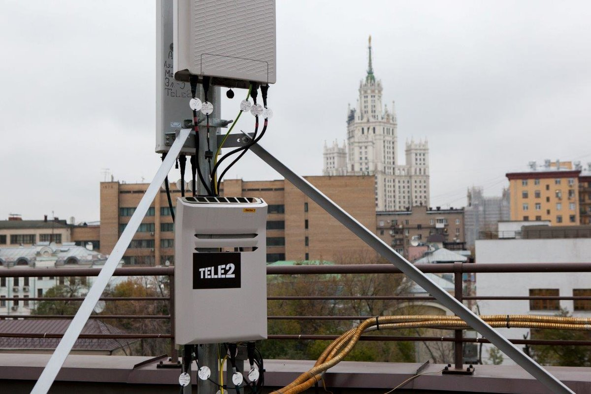 Indoor-покрытие Tele2 превысило 1 млн кв. м