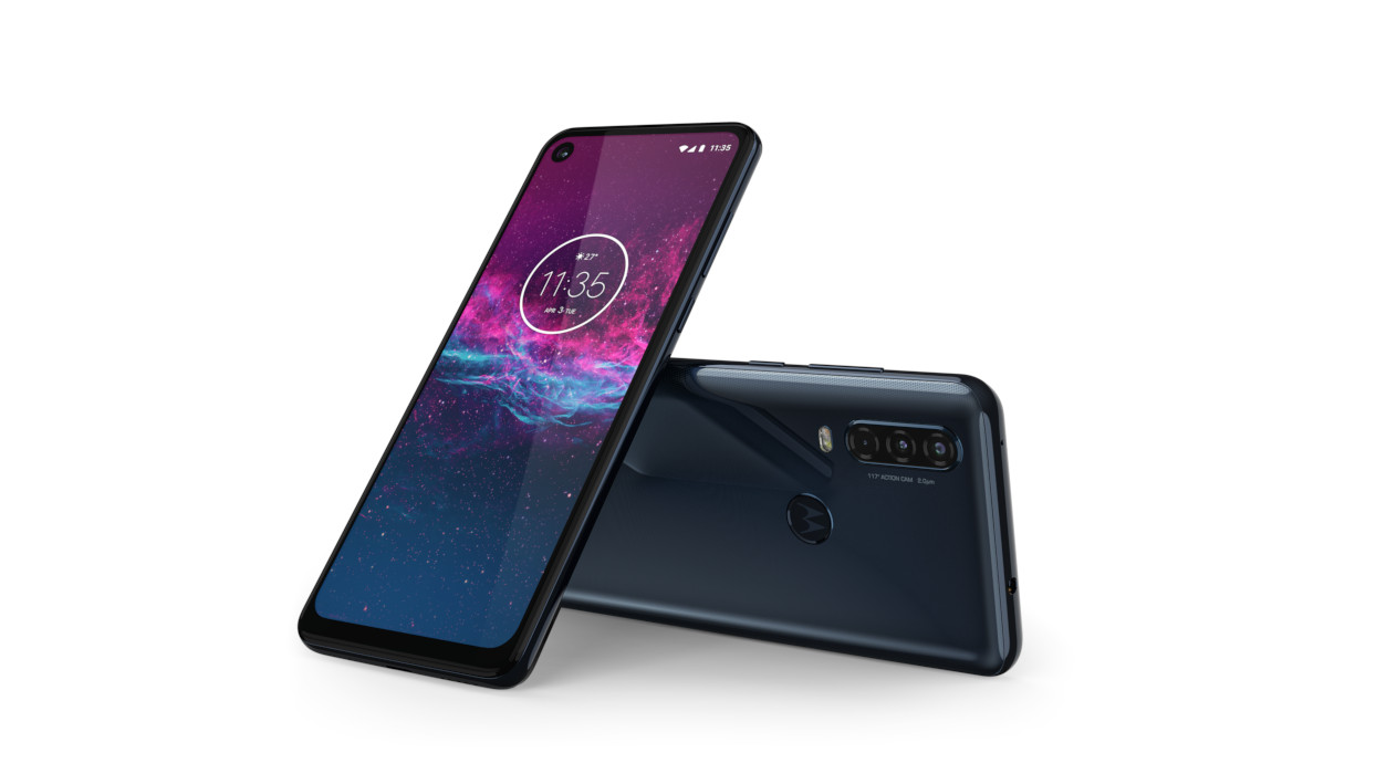 Motorola one action: смартфон с дисплеем Cinema Vision