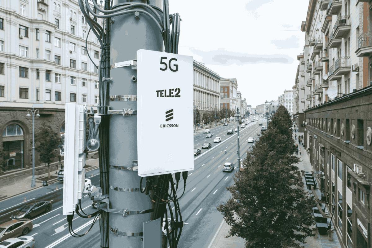 Сеть 5G от Tele2 и Ericsson запустили в Москве